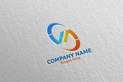 Letter V, A, VA Logo Design 66 Product Image 1