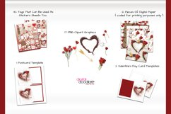 Hand Painted Hearts & Tulips Bundle Product Image 2