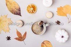 Autumn flat creative composition Product Image 1