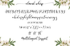 Almond Whisp - Modern Calligraphy Product Image 6