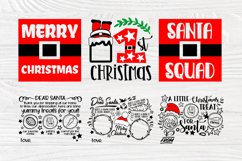 Christmas SVG Bundle, Dear Santa Tray Svg, 1st Christmas Svg Product Image 4