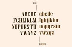 Gan Fall    Serif Condensed Font Product Image 4