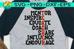 Teacher Words - Mentor - Inspire - Educate - Coach - Share Product Image 1