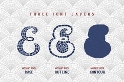 Mosaic Pool Typeface Product Image 4