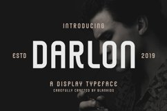 Darlon - Sport Typeface Product Image 1