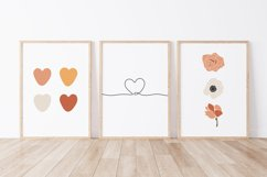 Set of 6 flower prints, Digital love posters, Birthday gift Product Image 2