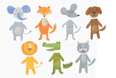 Papercut Animals Clipart Product Image 4