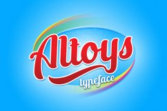 Altoys Typeface Product Image 2