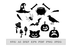 Halloween decor collection, 15 elements Product Image 2