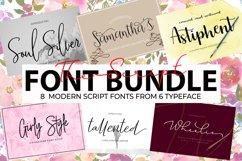 The Script Font Bundle Product Image 1