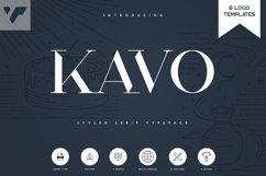 Kavo Styled Serif Typeface | 5 fonts Product Image 1