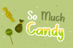Scary Candy | Cute halloween font with illustration Product Image 3