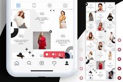 Fashion Minimalist Instagram Puzzle Preset for Canva Product Image 7