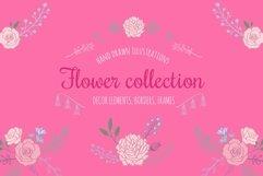 Floral botanical wedding illustrations set Product Image 1