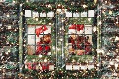 Window Frames Overlays Christmas Freeze Holiday photoshop Product Image 5