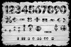 Basic Buffalo Plaid Patterned Font Product Image 6