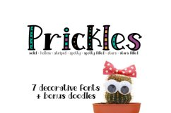 Prickles Complete Collection Product Image 1