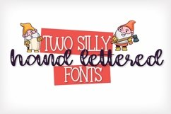 Web Font The Garden Gnomes - A Script & Print Duo Product Image 2