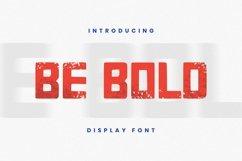 Web Font Be Bold Font Product Image 1