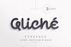 Qliché Typeface Product Image 1