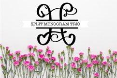 Split Fancy Monogram Trio - Clean & Hand Lettered! Product Image 3
