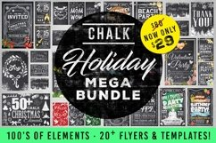Mega Chalk Holiday Bundle 60 off Product Image 1