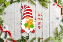 Christmas gnome svg cut files Christmas svg files for cricut Product Image 3
