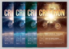 Creation Church Flyer Template Product Image 3