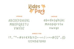 Kidos Park Fun Children Typeface Product Image 6