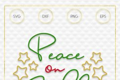 Peace on Earth SVG File Product Image 3