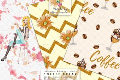 Coffee Beans Digital Patterns DP064 Product Image 5