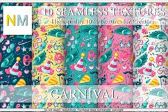 Carnival 10 Seamless Textures Product Image 3