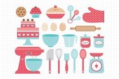 Baking Utensils-Digital Clipart LES.CL11 Product Image 1