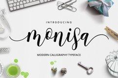Monisa Script Product Image 1