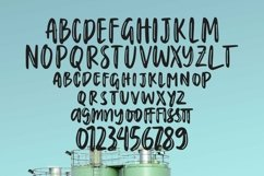 Web Font Greenlake Lagoon - Handlettering Font Product Image 4