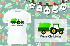 Christmas Truck SVG, Christmas Bug SVG, Christmas Tree Product Image 1