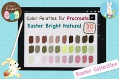 Color Palettes set for Procreate - Easter Bright Natural Product Image 1