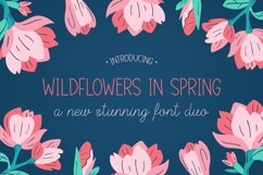 Wildflowers in Spring Font Duo Product Image 1