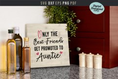 Only the best friends get promoted to auntie, baby, pregnant Product Image 2