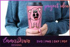 IGGY THE PIGGY SVG MANDALA / ZENTANGLE DESIGN Product Image 4