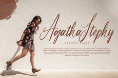Partiny Agathi - Handwritten Font Product Image 3