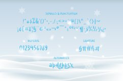 Fronzy - Winter Rough Typeface Product Image 2