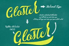 Gloster Typeface Product Image 2