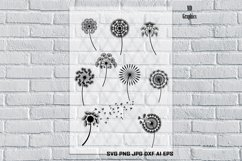 Dandelion svg, Dandelion art, Dandelion shirt, Dandelion Product Image 1