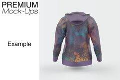 Women's Full-Zip Hoodie Mockup Product Image 5