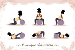 PREGNANT YOGA vector bundle Product Image 3