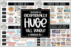 An Exceptionally Huge Fall Bundle | 6 Bundles In 1| 76 SVGs Product Image 1