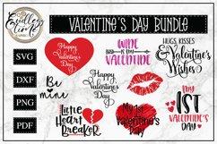 Valentine's Day Bundle - 10 Valentine SVG Cut Files Product Image 1