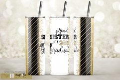 Proud sister of a 2021 Graduation tumbler sublimation 20 oz Product Image 1
