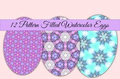 Watercolor Pattern Easter Eggs Product Image 2